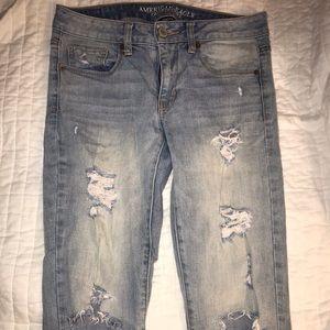 VINTAGE American Eagle Skinny Jean